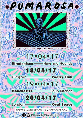 Pumarosa UK Tour 2017
