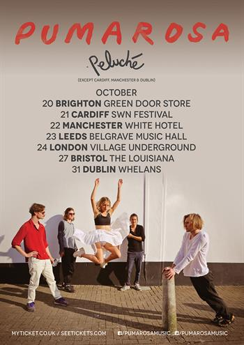 Pumarosa 2016 UK Tour
