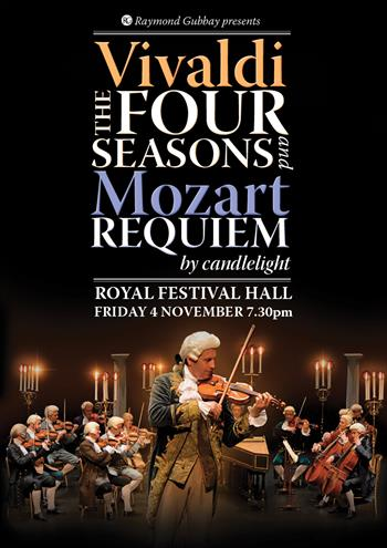 Vivaldi The Four Seasons and Mozart Requiem UK London 2016 show