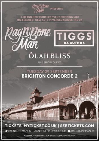 Rag N Bone Man UK Tour 2015