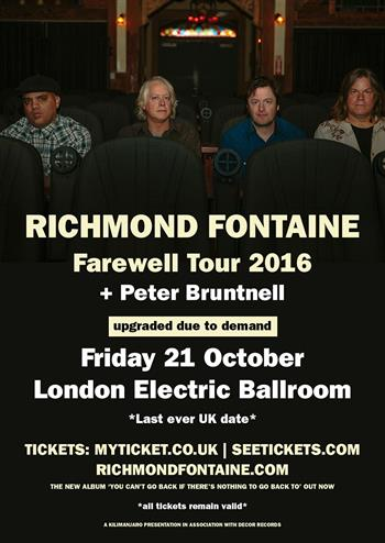 Richmond Fontaine final show 2016
