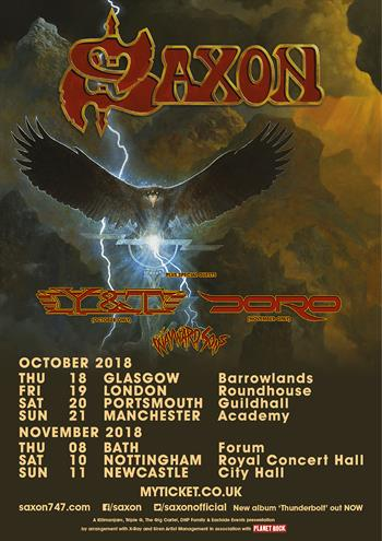 Saxon Full Tour