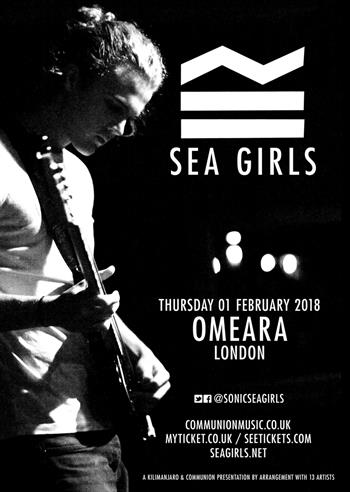Sea Girls UK London 2018 show