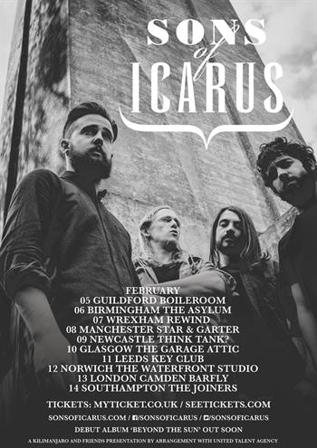 Sons Of Icarus UK Tour 2016