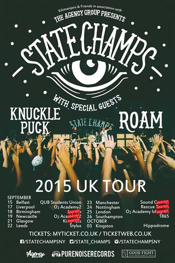 State Champs UK Tour 2015