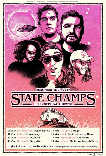 State Champs UK Tour 2017