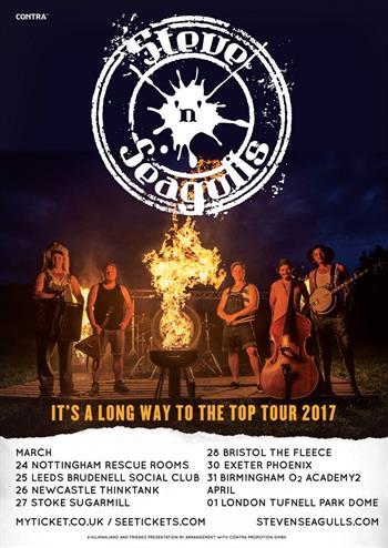 Steve N Seagulls UK Tour 2017