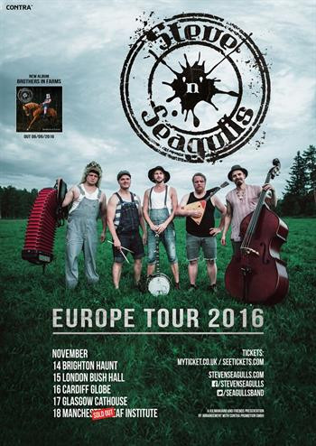 Steve N Seagulls UK Tour 2016