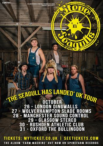 Steve N Seagulls UK Tour 2015