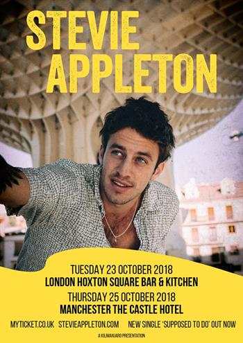 Stevie Appleton UK London 2018 shows