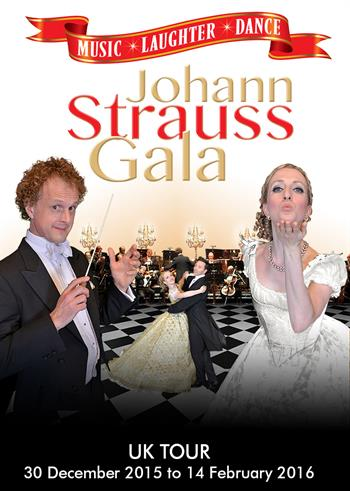 Johann Strauss Gala UK Tour 2015