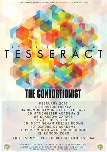 TesseracT UK Tour 2016