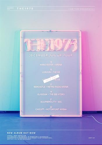 The 1975 UK Tour 2016
