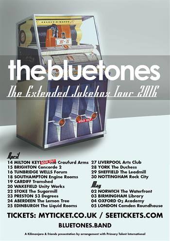 The Bluetones UK Tour 2016