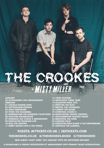The Crookes UK Tour 2016