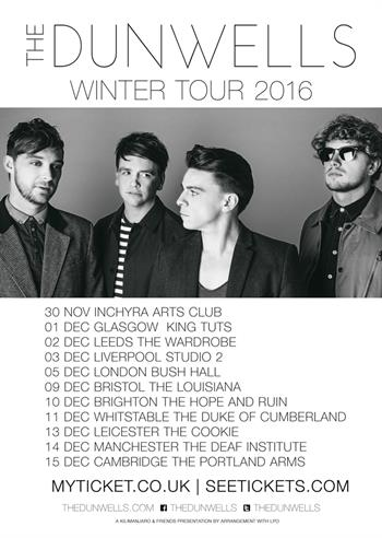 The Dunwells UK Tour 2016