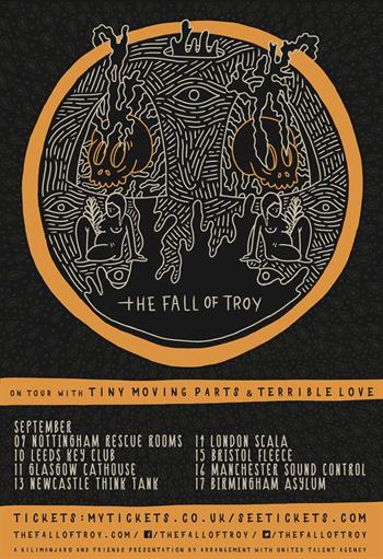The Fall Of Troy UK Tour 2016