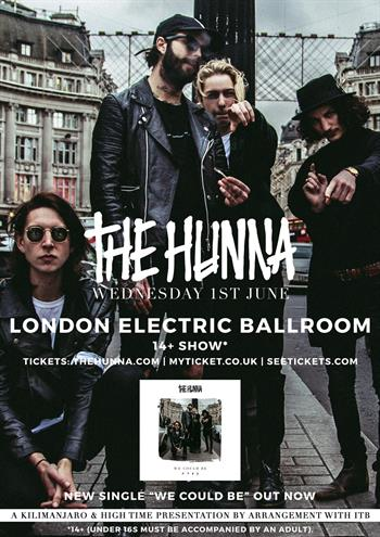 The Hunna UK London 2016 show