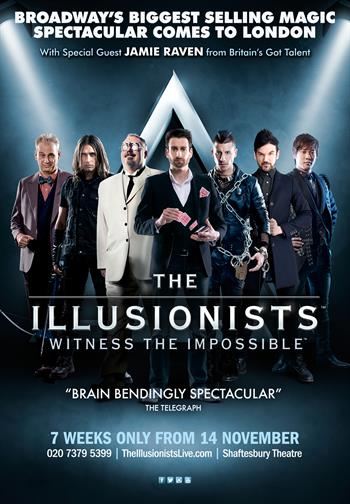 The Illusionists UK London 2015-2016