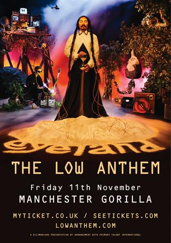 The Low Anthem UK Manchester 2016 show