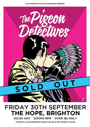 The Pigeon Detectives UK Brighton 2016 show