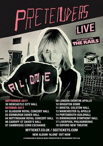 The Pretenders UK Tour 2017