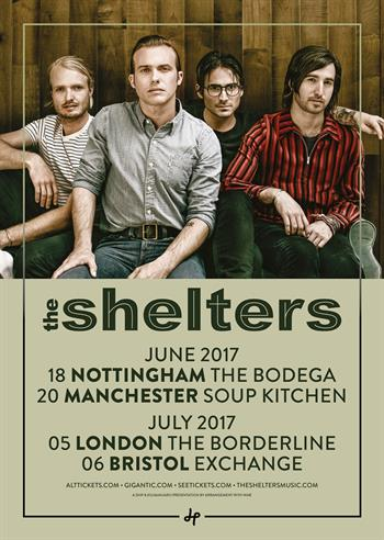 The Shelters UK Tour 2017