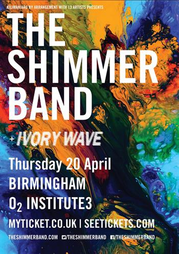 The Shimmer Band UK Birmingham show 2017