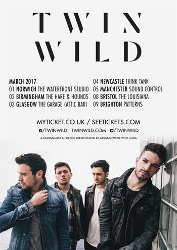 Twin Wild UK Tour 2017