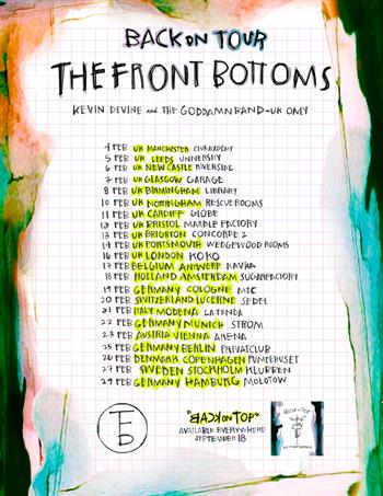 The Front Bottoms Euro