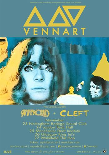 Vennart UK Tour 2015