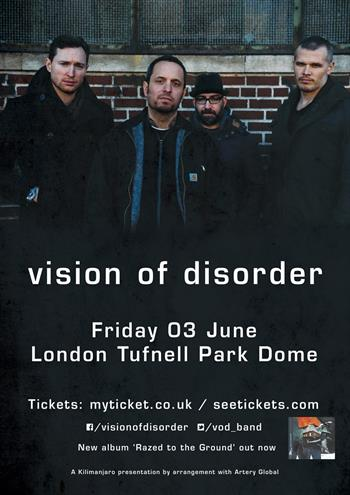 Vision of Disorder UK London 2016 show