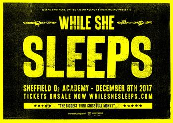 While She Sleeps UK Sheffield 2017 show