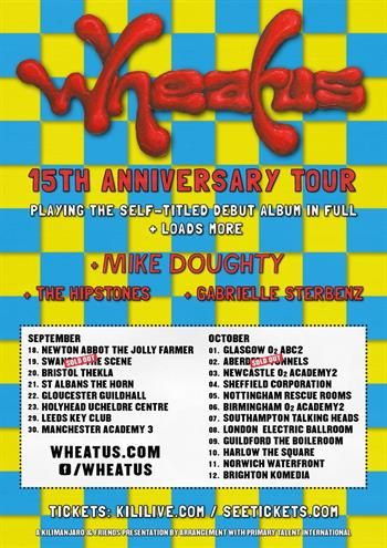 Wheatus UK Tour 2015