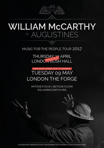 William McCarthy of Augustines UK London 2017 shows
