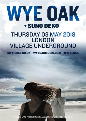 Wye Oak UK London 2018 show