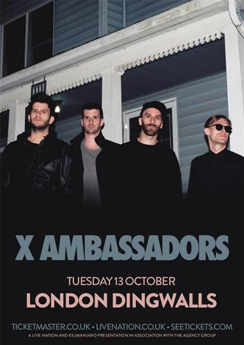 X Ambassadors UK London 2015