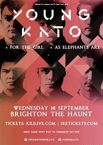 Young Kato UK Brighton 2015
