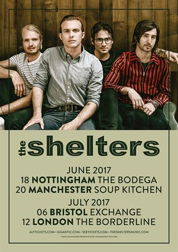 The Shelters UK tour