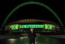 Ed Sheeran: 3 nights ruling Wembley