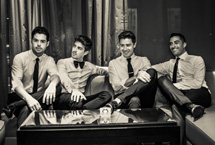 Jack Pack to support Caro Emerald