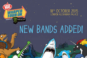 Bands added to Vans Warped Tour UK line up